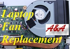 Wellington Compaq Laptop Cooling Fan Repair