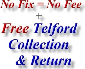 No Fix No Fee and Best Wellington Shropshire Computer Repair