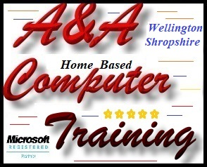 Wellington Telford Home Computer Training, Wellington Laptop Computer Coaching
