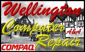 Compaq Wellington Shropshire Laptop Repair - Compaq PC Repair
