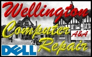 Dell Wellington Telford Laptop Repair and Dell PC Repair