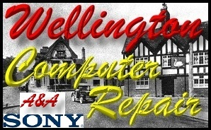 Fast Sony Wellington Shropshire Laptop Repair - Sony PC Repair
