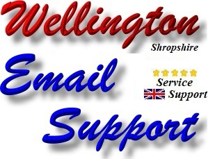 Wellington Telford Email Support and Email Repair